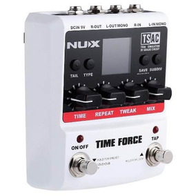 Pedal Delay Nux Time Force (pronta Entrega)
