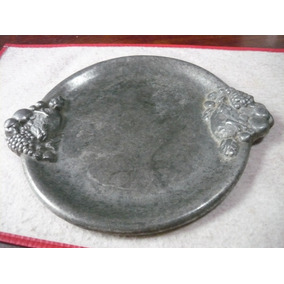 Frutera Antigua De Aluminio Macizo