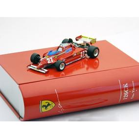 Ferrari 126 Ck 1981 G Villeneuve Ixo La Storia En Lata 1/43
