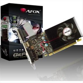Placa De Vídeo Geforce Gt710 2gb 64bit Ddr3 Low Profile Afox