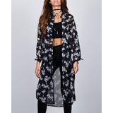 Kimono Chifon Estampado Synergy 211a