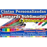 Cintas Colgantes Portacarnet Personalizada Lanyard Sublimado