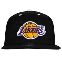 Gorra Plana Adidas Lakers Originales