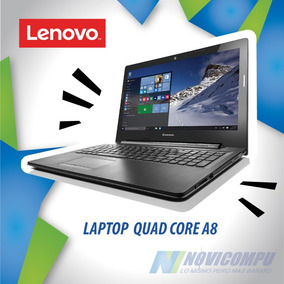Laptop Lenovo Quad Core A8+ 1tb+ 8gb+ 15,6 Touch+ Dvdwr