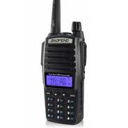Rádio Ht Comunicador Baofeng Dual Band Uv82 Rádio Fm
