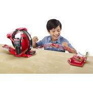 Mini Pista Lanzador Relampagueante Disney Cars + 1 Carrito