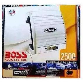 Amplificador Planta Boss 2500w Monoblock Clase D Para Bajos