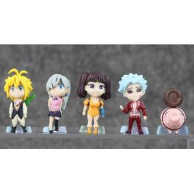 Miniaturas Nanatsu No Taizai Sete Pecados Capitais Meliodas