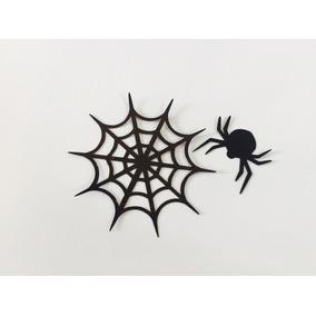 Recortes Teia De Aranha E Aranha