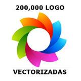 200,000 Logos Logotipo Vectorizados Serigrafía Diseño Vector