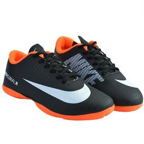 05a09f6cbb Chuteira Futsal Nike Mercurial Amarelo Laranja - Chuteiras no ...