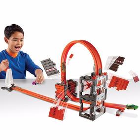 Pista Hot Wheels - Kit De Construção Radical Mattel Dww96