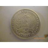 Moneda De Plata 1954 Un Bolivar= Usd9.15