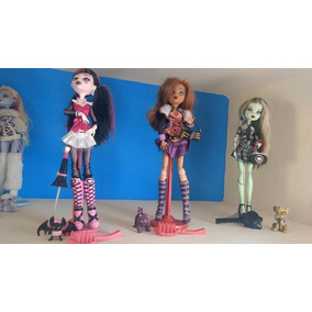 Monster High Coleccion Draculaura,frankie Y Clawdeen Wolf