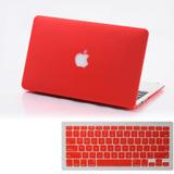 2 En 1 Tapa Dura Piel Caso Matt + Teclado Macbook Air 11 Pro