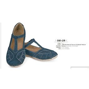 Huaraches Color Azul Linea Confort 581-29 Cklass