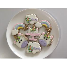 Galletas Decoradas Unicornio Fiestas Infantiles, Baby Shower