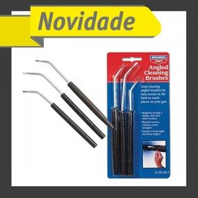 Kit De Escovas Angulares Para Mantencao E Limpeza De Armas B