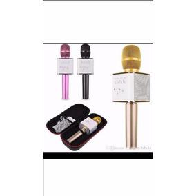 Microfono Megafono Cornetas Incluidas Regalo Bluetooh