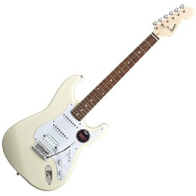Squier Guitarra Elec Stratocaster California Fat Rwn Artic W