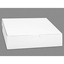 250 Cajas Blancas Lisas Para Pays O Pastelillos Pasteleria10