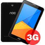 Tablet Aoc 3g Chip 7 Doble Cámara Android Nuevas 100%