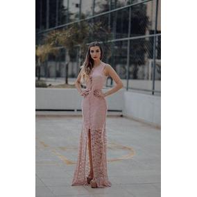 Vestido Longo Chiq Fenda Formatura Casamento Madrinha