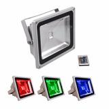 Reflector Foco Led Rgb 50w Ahorro Y Confort Calidad Garantia