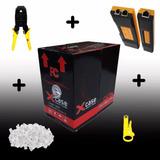 Bobina Cable Utp Cat 5e 305m+100 Rj45+tester+ Pinzas+pelador