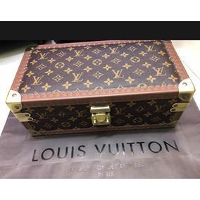Porta Relógio Louis Vuitton Canvas
