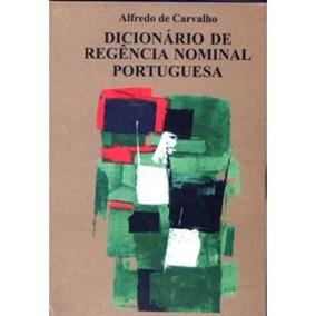 Dicionário De Regência Nominal Portuguesa