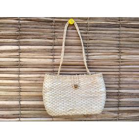 Bolsa Palha De Milho Feminina Praia Verão