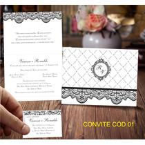 R$ 1,00 Unidade Convites De Casamento E 15 Anos.