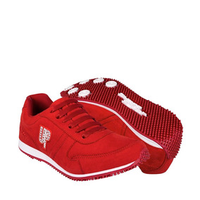 Zapatos Atleticos Y Urbanos Whats Up 111225 22-26 Suede Roj