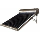 Termo Solar De 300 Its Acero Inox.(30 Tubos) + Barra De Mag.