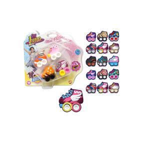 Soy Luna Mini Patines De Dedos Coleccionables Set X 4