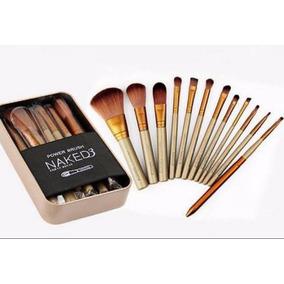Pincel De Maquiagem Kit 12 Pincéis Neked 3