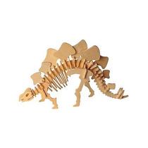 Dinosaurio Stegosaurus 3d De Madera Rompecabezas
