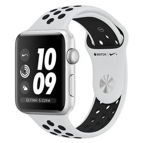 Apple Watch Nike+ S3 42mm Mql32cl Platinum Novo Original