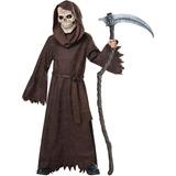 Segadora Antigua Niño Disfraces De Halloween, Un Tamaño,