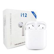Auriculares Inalámbricos Bluetooth I12 Blanco 5.0