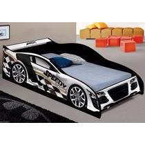 Cama Carro Speedy Para Criança Solteiro J E A- Bco