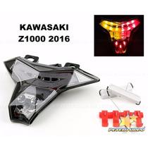 Lanterna Led Pisca Seta Integrados Kawasaki Z1000 14 15 2016