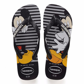 Chinelo Havaianas Disney Stylish Mickey Minnie