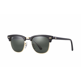 Ray Ban Clubmaster Rb3016 Black W0365