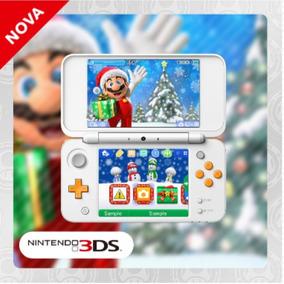 Tema Para 3ds - Boas Festas Com O Mario
