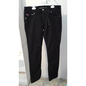 79af820ddf Pantalón Dama Polo Us Negro Mezclilla 11-12 Largo
