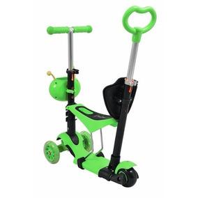 Patinete Infantil Multi Função - 3 Rodas Scooter 3 Em 1