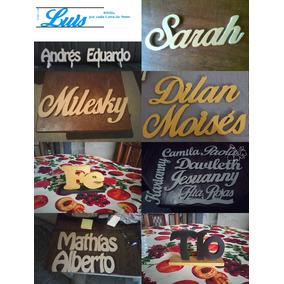 Letras En Mdf P/decorar Cuartos Bodas 15 Año Logos Candybar