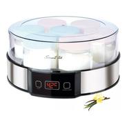 Smarttek Ym750 Yogurtera Digital 7 Frascos + Recetario!acero